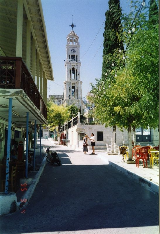 central square Chios