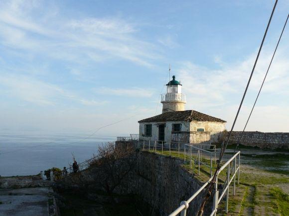 Corfu, The old lighthouse