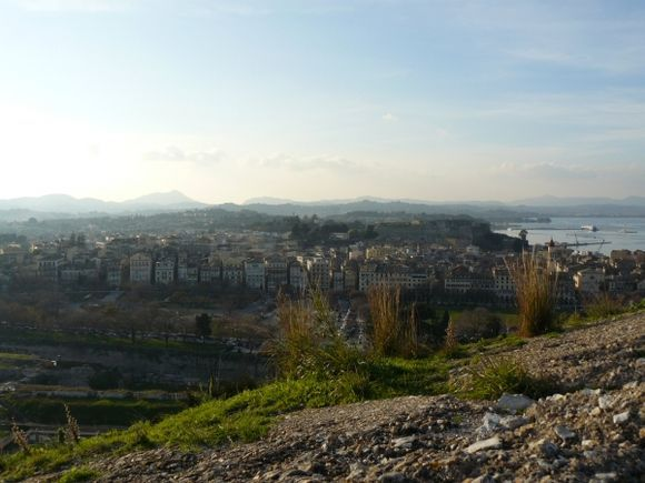 Corfu, View from the old fortress
