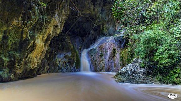 The Nidri Waterfall