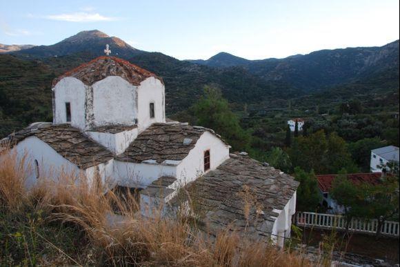Church of Agia Irini, Kambos, Ikaria