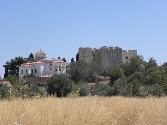 Logothetis Castle and Metamorfosis church Pythagorio