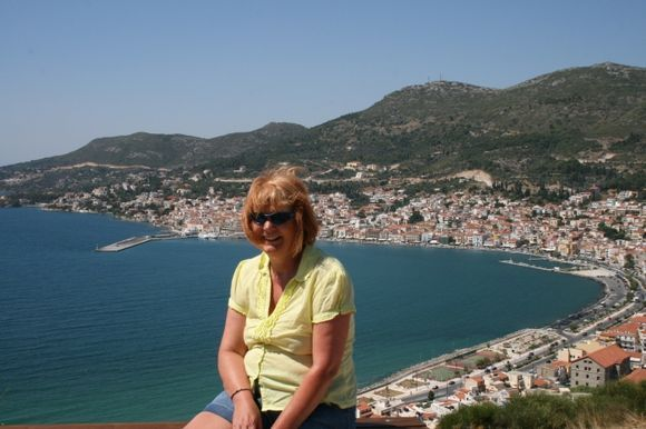 On top of the world Samos town