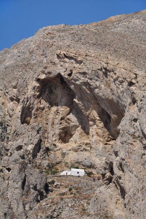 Mount Mesa Vouna with the Agios Katefiani-church