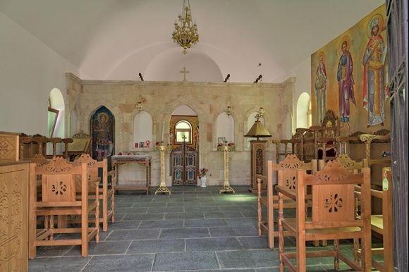 Inside New Church Lardos