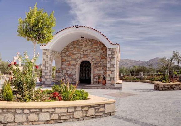 Brand new Church in Lardos.