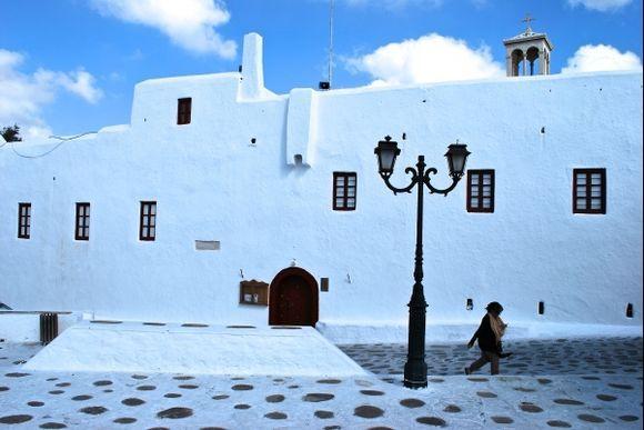 monastery on Mykonos