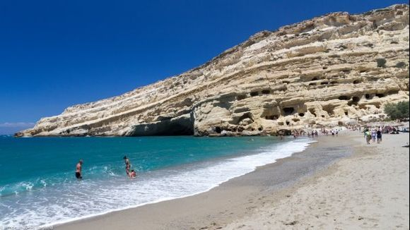 Matala Beach and Caves