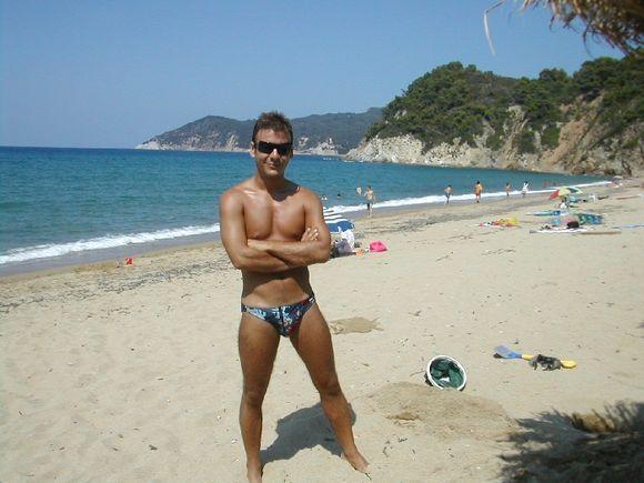 Skiathos, nice day in Aselinos beach