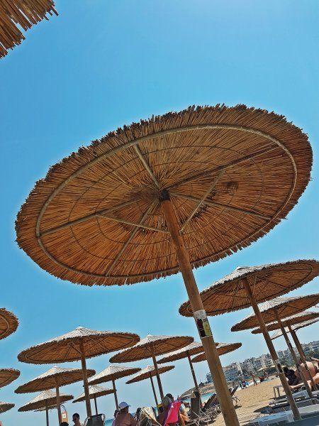 Rafina august 2017, Tzitziki beach bar close to the port.
