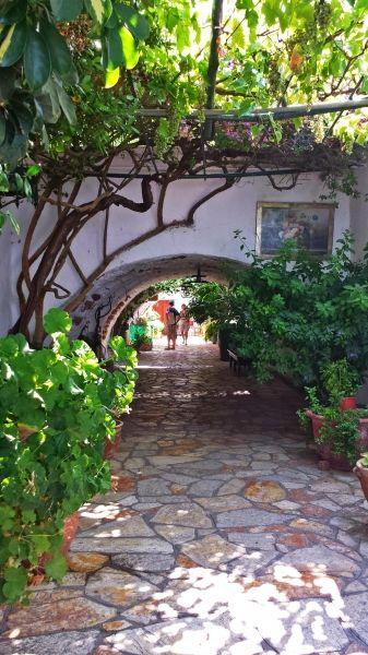 Corfu island, Monastery of Paleokastritsa