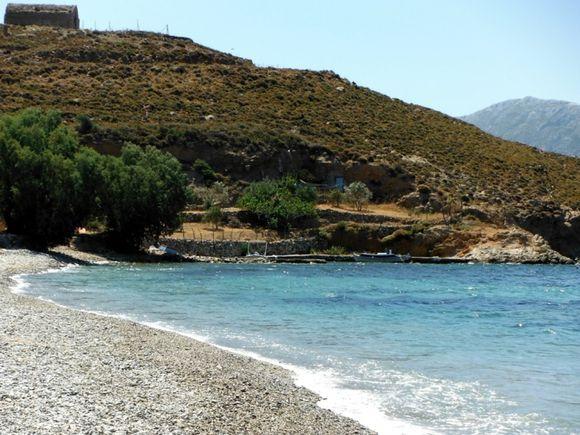 Kalymnos island, the quiet and beautiful Emborios beach