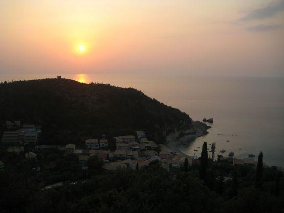 Lefkada, view of Agios Nikita