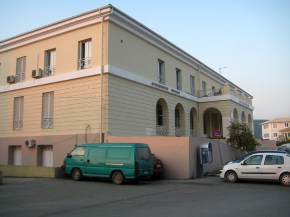 Lefkada town, the Archaeological Museum close to the port in the main street