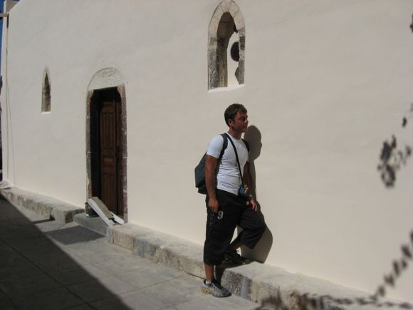 Santorini, Mesa Gonia, Church Of Panagia Episkopi