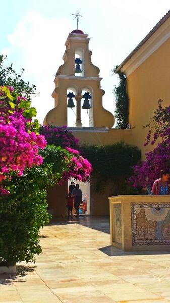 Corfu island, Paleokastritsa Monastery