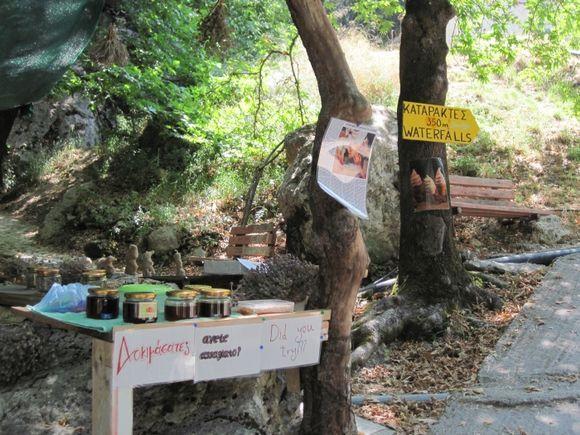 Lefkada, going to Nidri waterfalls