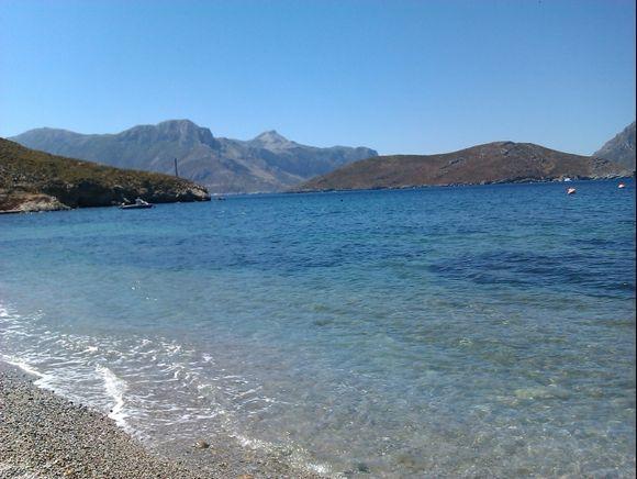 Kalymnos island, Emborios beach