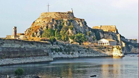 Corfu island, the Old Fortress