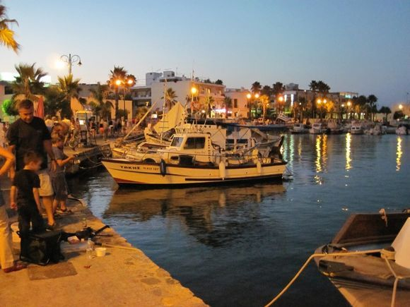 Kos, the harbour of Kos Town
