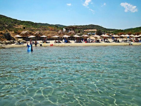Halkidiki (Sithonia), Platania beach