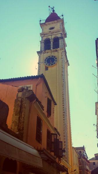 Corfu island, the Church of Saint Spyridon in Kerkira