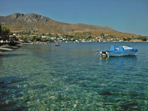 Leros island, Alinda beach