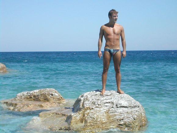 Skiathos, Lalaria beach, wonderful water!!!