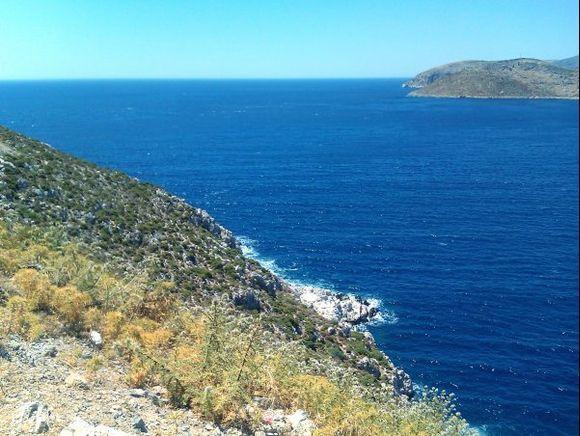 Kalymnos july 2012, close to Arginonta beach