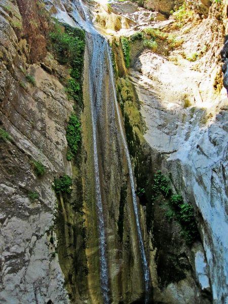 Lefkada, Nidri waterfalls