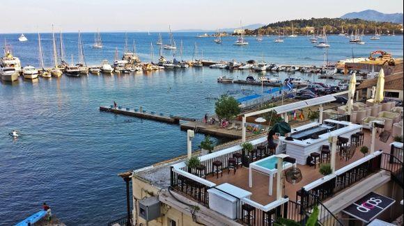 Corfu (Kerkira), the Drops bar, close to the old fortress