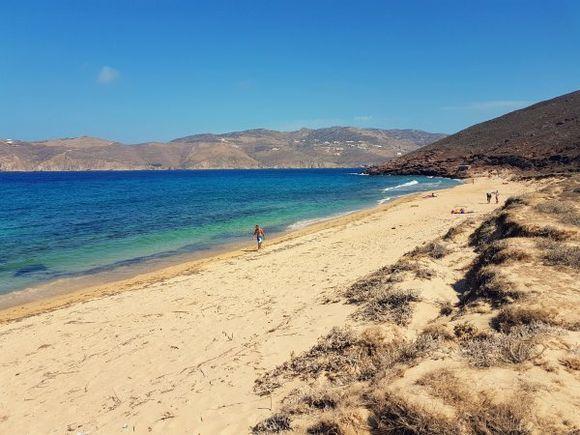 Mykonos august 2017, Panormos beach