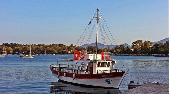 Corfu island, close to the Old Fortress