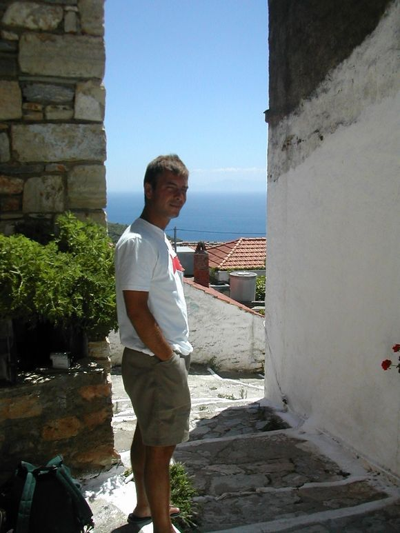 Alonissos, a nice view from the Chora