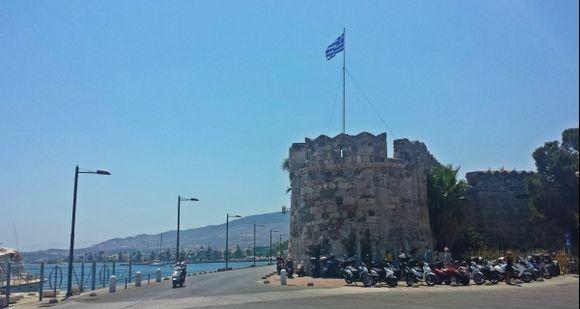 Kos island, Nerantzia Castle