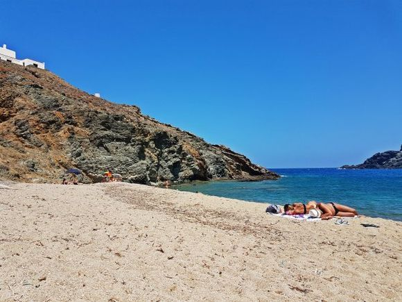 Mykonos august 2017, Fokos beach