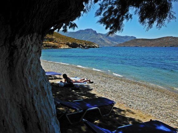 Kalymnos island, Emporio beach