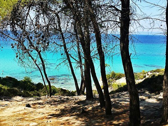 Halkidiki, Kavourotrypes beach