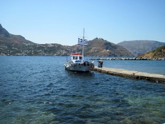 Kalymnos, the port of Telendos island