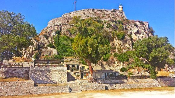 Corfu island, the Old Fortress in Kerkira