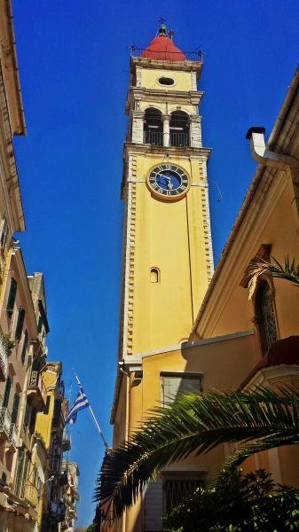 Corfu island, the Church of Saint Spyridon in Corfu