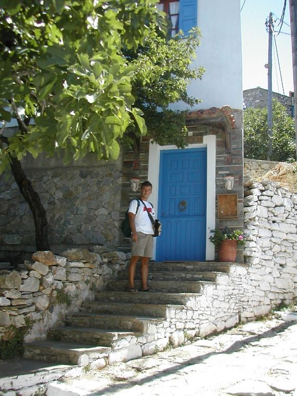 Alonissos, the old Chora