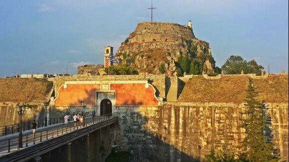 Corfu (Kerkira), the old fortress