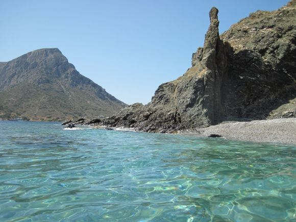 Kalymnos island, Myrties beach