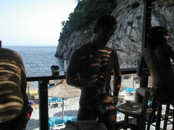 Stafilos beach bar