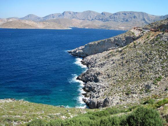 Kalymnos island, close to Arginonta beach