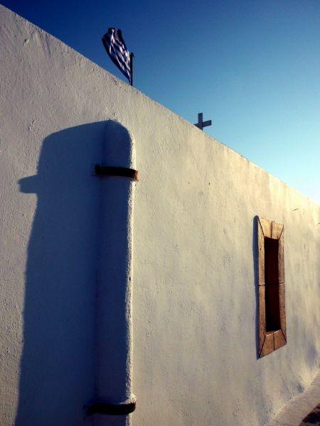 Leros island,  Church Of Prophet Elias in Pandeli