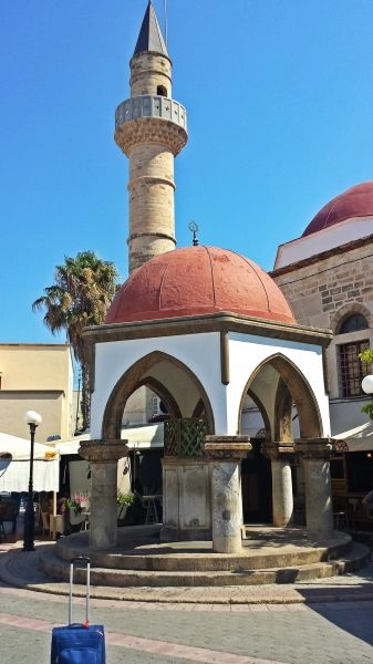 Kos island, the Ottoman Mosques in Eleftherias Square