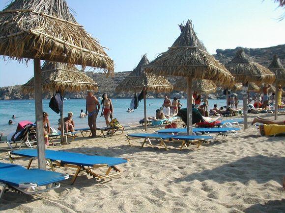 Mykonos, Super Paradise beach