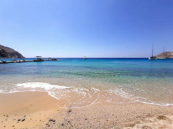 Mykonos July 2021, in the wonderful Elia beach